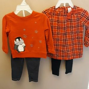 Girls Carter's outfits